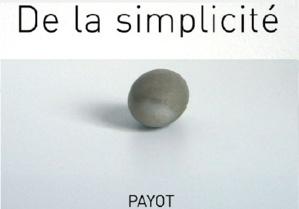 1.19 Eloge de la simplicité