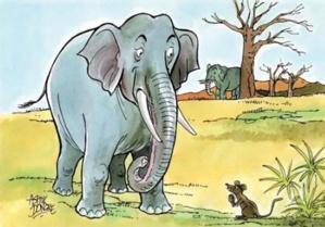 Le Rat et l'Eléphant