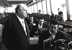 Organisation du travail Olivetti