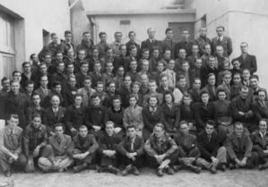 Photographie du personnel en novembre 1942
