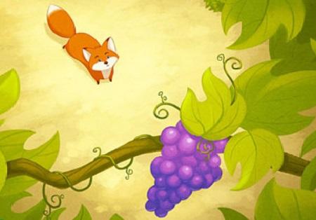 Le Renard et les Raisins