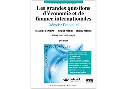 Les grandes questions d'économie et de finance internationales : Décoder l'actualité