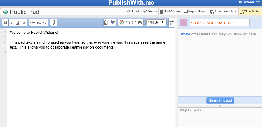 1.60 L'écriture à plusieurs et à distance, c'est facile avec Framapad, PublishWith.me, CryptPad et Omnibook.pro