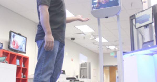 Le robot de téléprésence