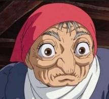 La vieille dame au restaurant